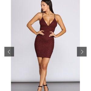 Gleam and Glam Mini Dress
